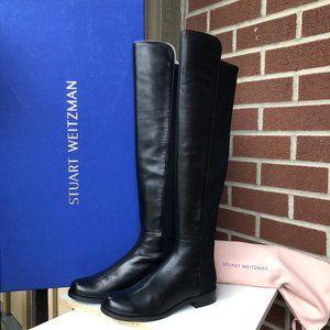 Stuart Weitzman 5050 Over the Knee Leather Boot